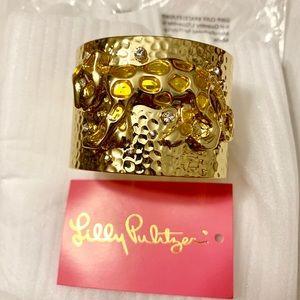 NWT Lilly Pulitzer Cheetah/Leopard Cuff Bracelet